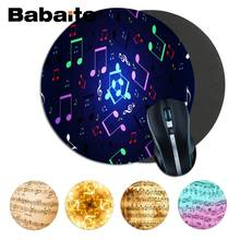 Babaite Desain Baru Circle Of Chords Bulat Mouse Pad PC Komputer Mat Gaming Mousepad Karpet untuk PC Laptop Notebook Gaming mouse Pad(China)