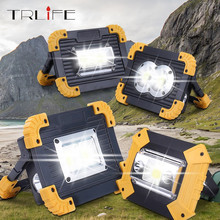 4000LM Led Portable Spotlight Led Work Light Rechargeable 18650 Battery Outdoor Light Led Latern Flashlight For Hunting Camping cheap TRLIFE CN(Origin) CE ROHS LITHIUM ION LED Bulbs Portable Lanterns PL141 Rechargeable Battery 2G11 Outdoor Light Lighting Emergency