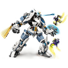 7188 Legacy Zane Titan Mech Battle TV Season 5 Compatibility 71738 Building Blocks Classic Model Sets Bricks Kids Kits 2021 New