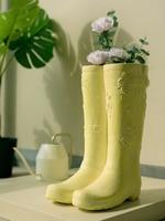 Creative Literary Umbrella Storage Rack Rain Boots Vase Home Garden Garden Decoration Art Insert Vase