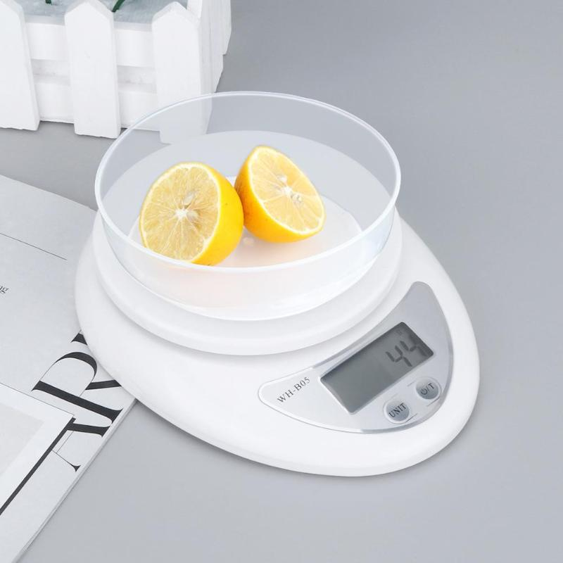 Mini Electronic Scale High Precision Household Kitchen Scale Baking Measuring Weighing Balance Digital Scale 1Kg/0.1g 5Kg/1g