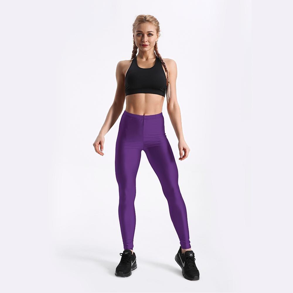 Qickitout Private Custom Purple Skull Customer Digital Printed Leggings  USA Size XS-XL Jk28-007