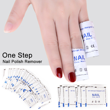 Nail Polish Remover Wraps Degreaser Gel Nail Polish Easy Soak Off Remover Wipes Napkins Manicure Nail Art Cleaner 20/50/100PCS locia nail polish remover wet wipes white 6 scent