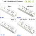 BC-961/BC-962/BC-963/BC-964 1CH/2CH/3CH/4CH высокочастотный светодиодный ретранслятор мощности  для одноцветного/RGB/RGBW светильник полосы контроллера