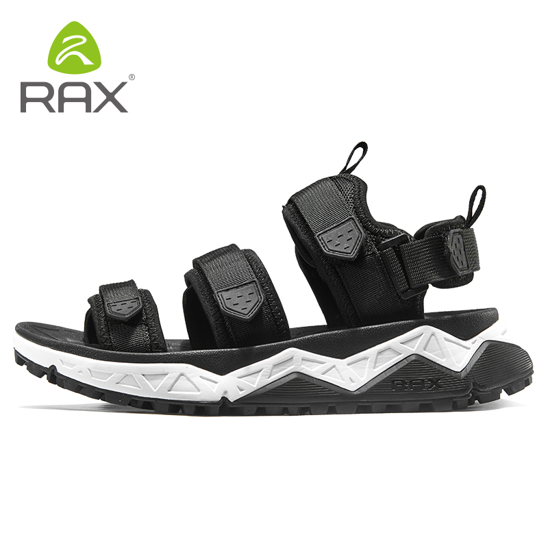 RAX Mens Sports Sandals Summer Outdoor Beach Sandals Men Aqua Trekking Water Shoes Men Upstream Shoes Women Quick-drying Shoes