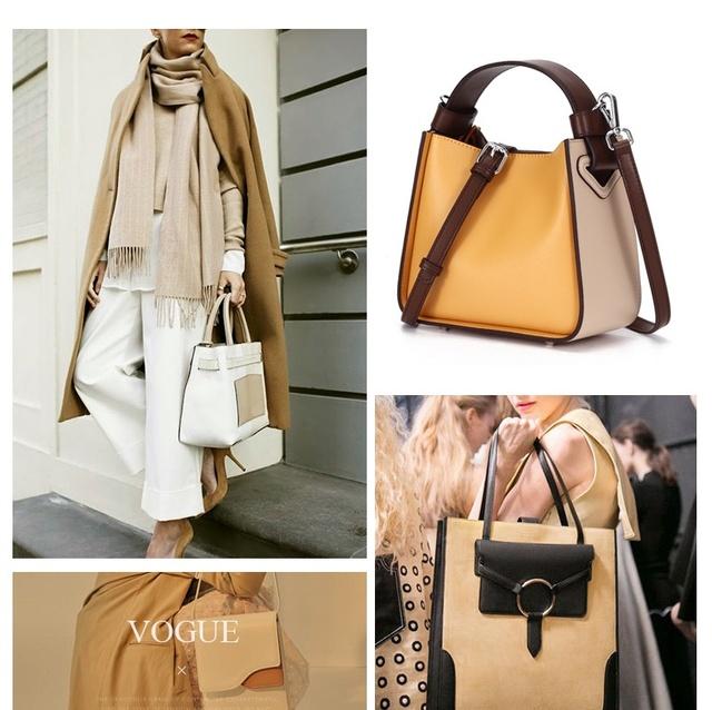 Luufan woman bags 2019 bag handbag fashion handbags pink yellow lady purse female bag christmas gift for GF wife mon girfriend