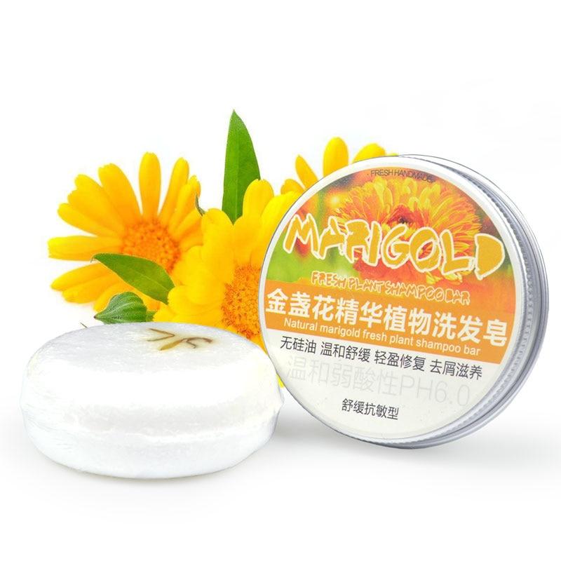 Fashion Handmade Hair Shampoo Soap Cold Processed Shampoo Bar 100% Pure Plant Hair Shampoos Hair Care TSLM1