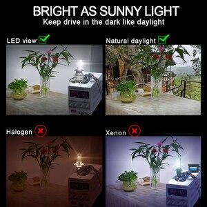 Image 4 - CNSUNNYLIGHT H7 LED Car Headlight Bulbs H4 H11 H1 9005 9006 H3 60W 12000Lm/Pair Turbo CSP Led Lamp 12V 880 H8 Automotive Lights