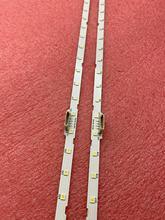 2pcs tira Retroiluminação LED para UE55NU7100 UE55NU7300 UE55NU7170U UE55NU7105 UE55NU7120 UN55NU7100 STS550AU9 UE55NU7300U UE55NU7400