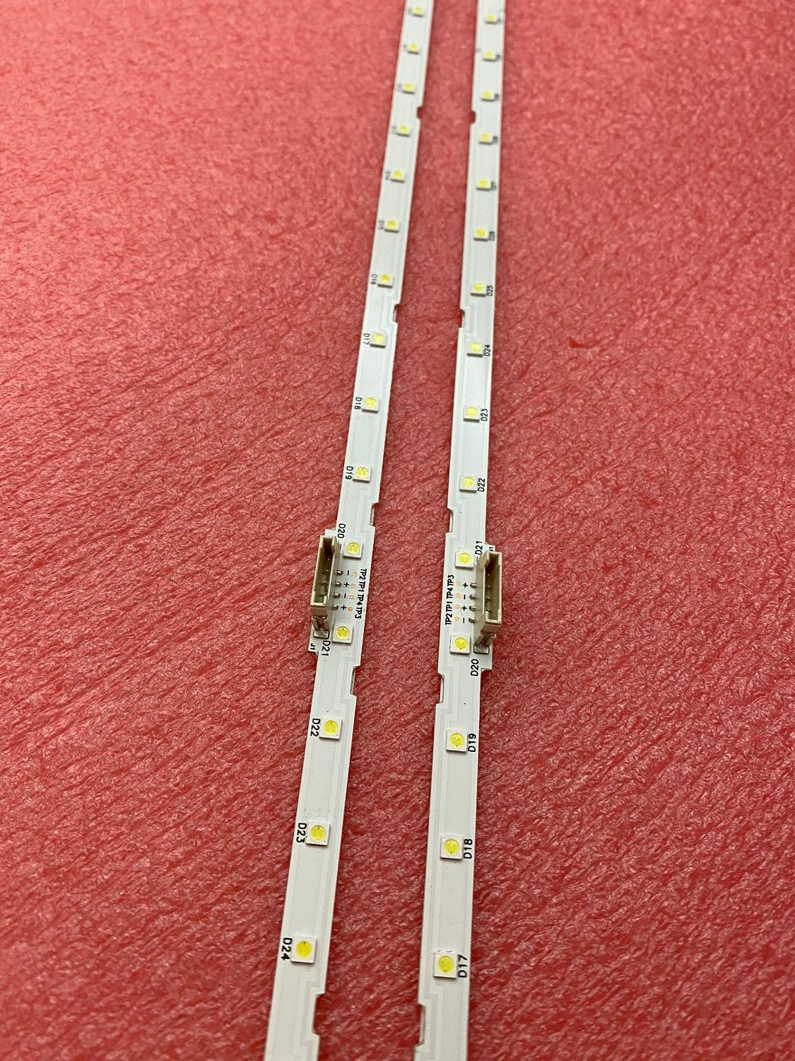 New 2 PCS 40LED LED Backlight Strip For Samusng UN55NU7300F UE55NU7105 LM41-00566A AOT_55_NU7300_NU7100 55NU710C 45193A