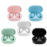 JFWEN-auriculares TWS A6S inalámbricos por Bluetooth 5,0, cascos deportivos con micrófono para teléfonos inteligentes Xiaomi, Samsung, Huawei y LG