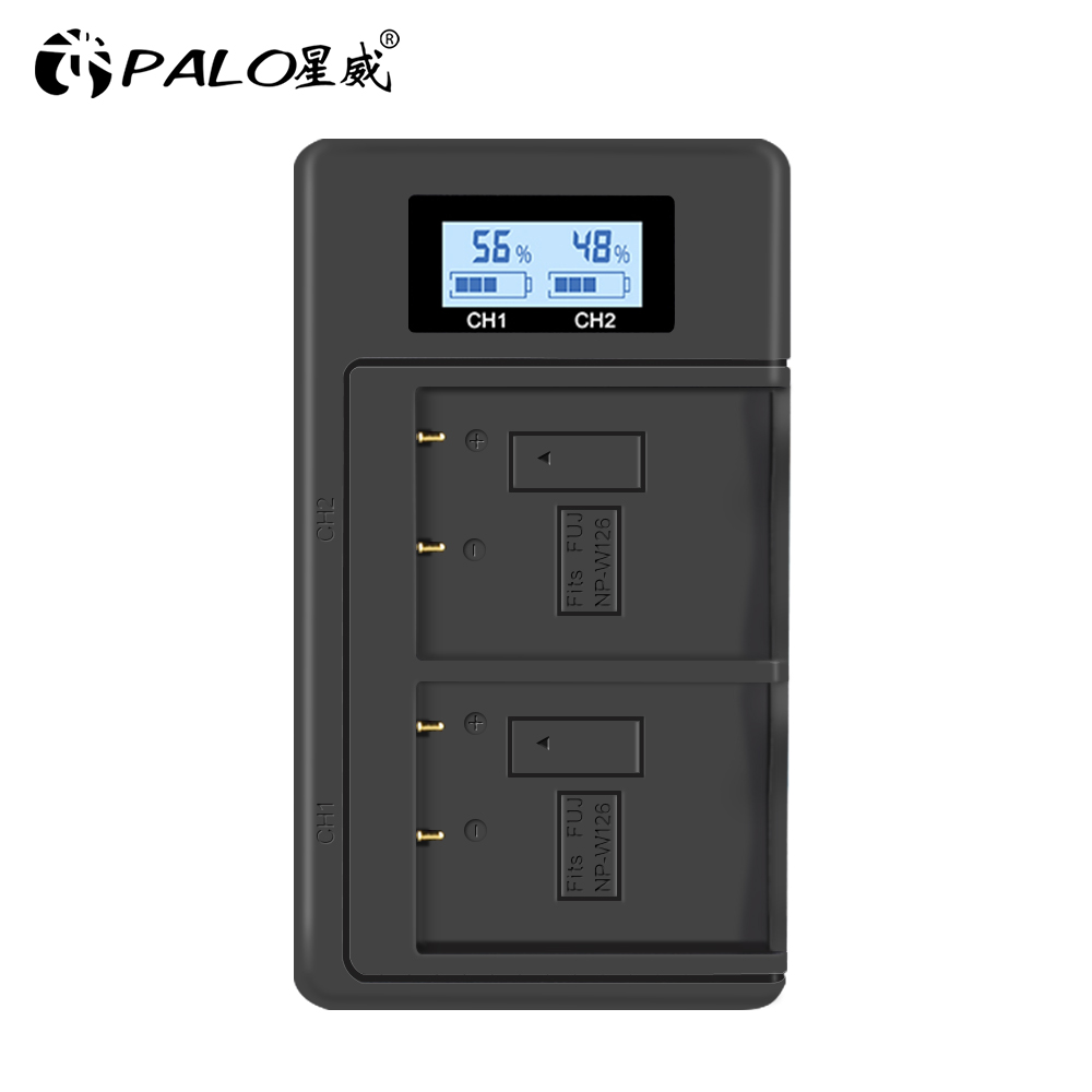 NP-W126 NPW126 LCD USB Charger For Fuji Film FinePix HS30EXR XH1 XT1 X-E2 XM1 X-Pro2 XT20 XT3 XA5 Xa3 XT2 XE3 XA10 XT10 X100F