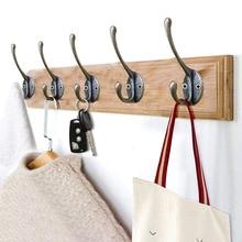 Металлическая старинная ткань, вешалка для ключей, настенный крючок, сумка для ключей, шляпа, настенная вешалка для спальни, органайзер для ванной комнаты, аксессуары для украшения дома