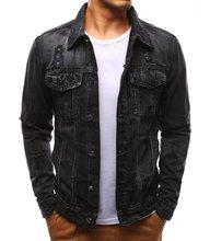 Denim Jacket Men 2019 Autumn And Winter Fashion Jeans Coat Male Slim Fit Casual Coats Outwear M-3xl