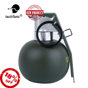 Dummy Grenade BB Holder Storage Container Grenades M67 Frag Gren Model Plastic Costume Military Airsoft Shooting Accessories(China)