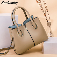 Znakomity Bags for Women New Fashion Leather Handbags Large Capacity Shoulder