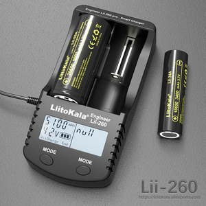 Image 2 - Liitokala lii 260 LCD 3.7V 18650/18500/16340/18350/14500/10440/17500 26650 Battery Charger,Detection of lithium battery charger