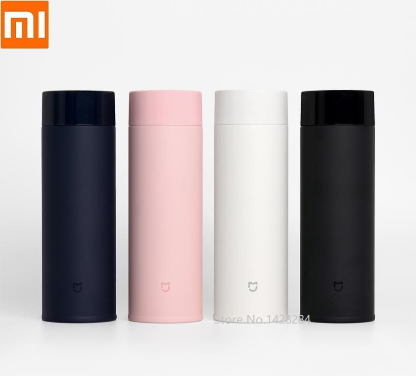 Xiaomi New Portable Mini Stainless Steel Thermos Cups Thermocup Insulation Lock Cold Coffee Mugs Travel Bottle Mug