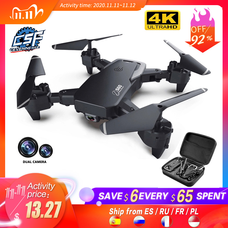 2020 NEW Drone 4k profession HD Wide Angle Camera 1080P WiFi fpv Drone Dual Camera Height Keep Drones Camera Helicopter Toys|RC Helicopters| - AliExpress