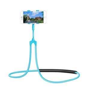 Image 5 - Support de support pliable de bâti Flexible portatif universel de support de téléphone Portable de cou de bras Long
