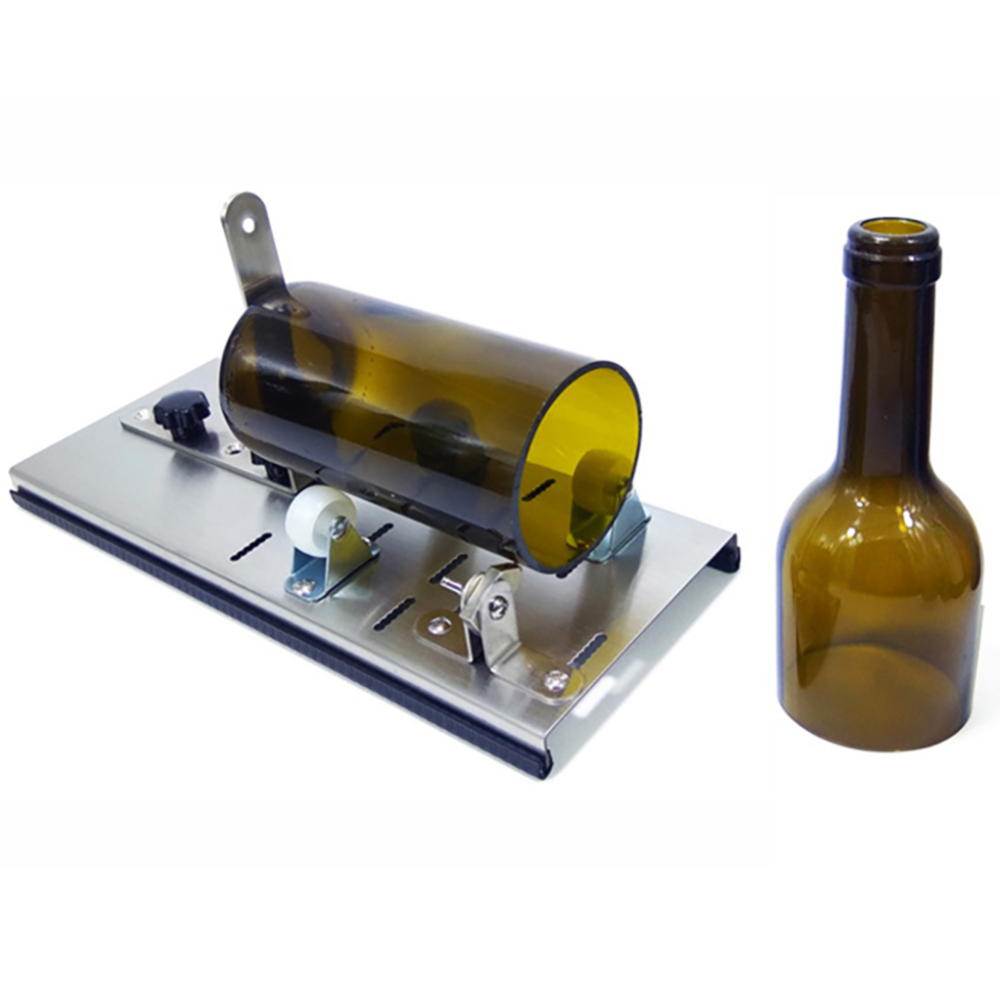 Glass Bottle Cutter Tool Professional For Bottles Cutting Glass Bottle Cutter DIY Cut Tools Machine Wine Beer With Sandpaper