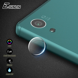 Claro para trás câmera lente protetor de tela película protetora vidro temperado para sony xperia z5 z4 z3 z2 z1 z compacto premium e5 m4 m5