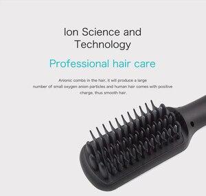 Image 3 - Prostownice do włosów profesjonalne szybkie napięcie uniwersalne ceramiczne elektryczne szczotka do prostowania włosów urządzenie do stylizacji prostownica do włosów ET 16