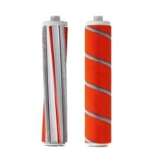 Горячая 2 шт. F8 часть пакет ручной пылесос запасные части наборы роликовая щетка мягкий пух углеродного волокна
