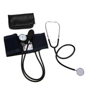 Image 5 - Doctor Medical Equipment cardiology Blood Pressure Monitor Meter Tonometer Cuff Stethoscope Kit Travel Sphygmomanometer