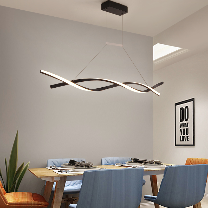 Modern Pendant Light For Kitchen Bar Suspension 110V 220V Pendelleuchte 6luminaire Suspension Lustre Pendant Lamp Dining Room