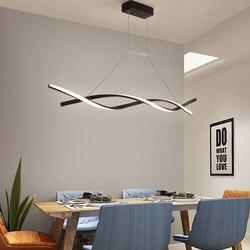 Modern Pendant Light untuk Dapur Bar Suspensi 110V 220V Pendelleuchte 6 Lampu Suspensi Kilau Lampu Ruang Makan