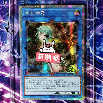 Yu Gi Oh Sword Art Online Asada Shino DIY Colorful Toys Hobbies Hobby Collectibles Game Collection Anime Cards