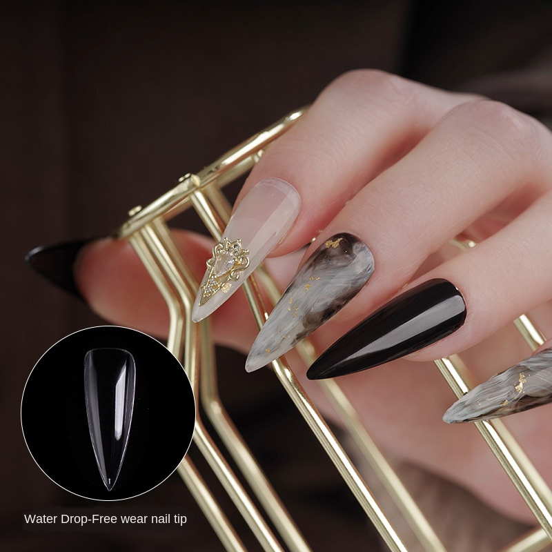 Ultra-thin Transparent Nail Patch Free Of Wear And Tear, Half Paste, Full Paste, Special Extension Fake Fake Nails