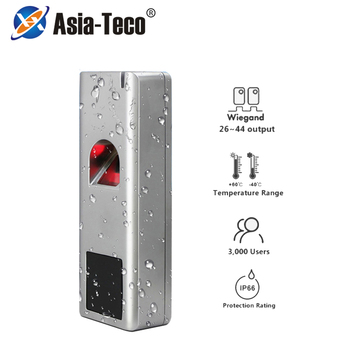 Metal Biometric Fingerprint Standalone Access Control System Rfid 125khz Reader 180kg 280kg kit Waterproof IP66 1000 Users
