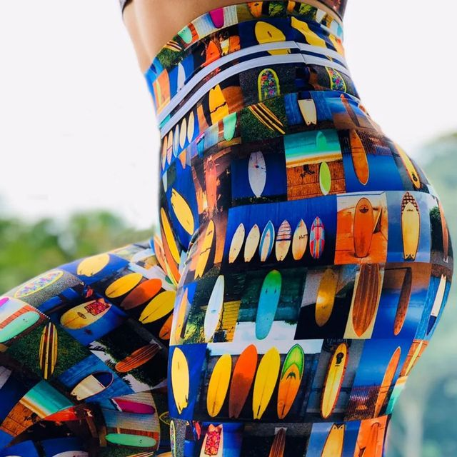 Digital Print Stretch Leggings 6