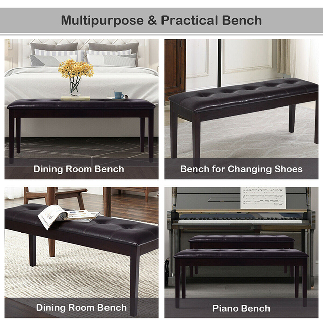 Upholstered Dining Room Bench  3