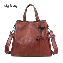 Women Ladies Messenger Bags Korean Style Satchel  Leather Handbags Luxury Designer Brown Business Bag Bolsa