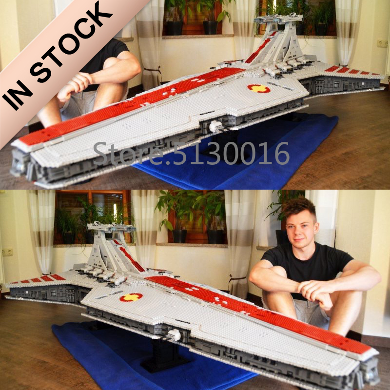 05077 UCS Venator класс Звездный Разрушитель ST04 6125 шт модель Звездные войны из фильма Строительные блоки совместимы с игрушками