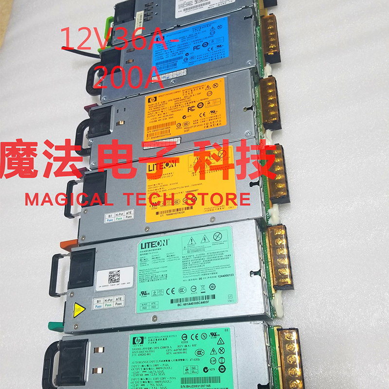 Power Supply 220AC to <font><b>DC</b></font> <font><b>12V</b></font> Switching Mode 36A 60A 80A 100A 450W-2400W Source Transformer for Monitor diy <font><b>Battery</b></font> <font><b>Pack</b></font> Motor image