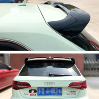 High Quality Carbon Fiber For Audi A3 Sportback 2014 2015 2016 2017 2018 2019 Rear Roof Spoiler Car Styling