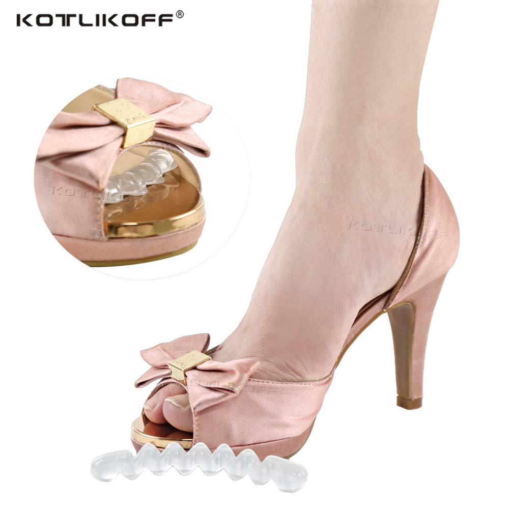 Self-adhesive Gel Non-slip Foot Patch Anti-wear Silicone Crystal Women High Heel Shoe Sticker Cushion Pad Foot Hind Care