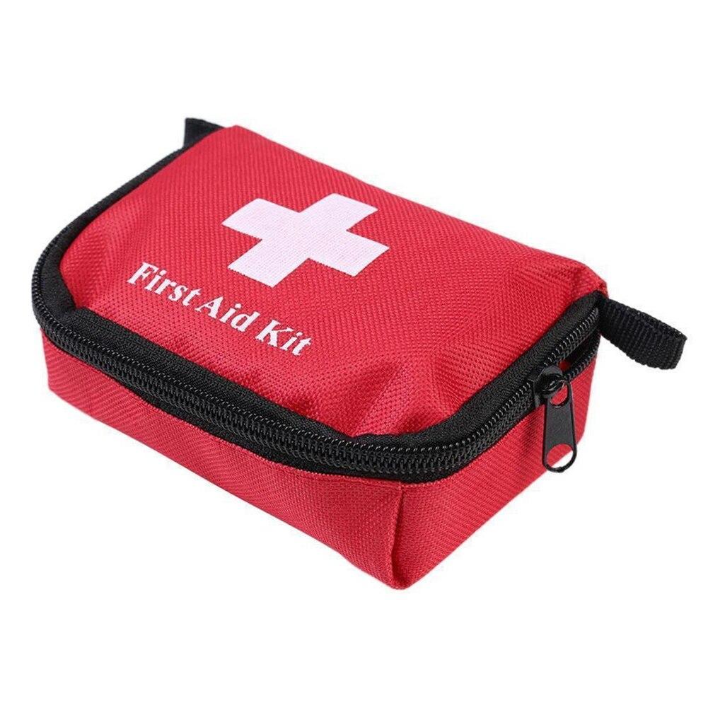 Leve kit de emergência ao ar livre portátil caso médico caminhadas acampamento sobrevivência viagem primeiros socorros emergência saco vazio