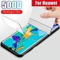 Защитная Гидрогелевая пленка для Huawei P30 P20 P40 Lite Pro Mate 40 30 20 Pro Honor 10 Lite 20 8X (не стекло) защитная пленка из фольги