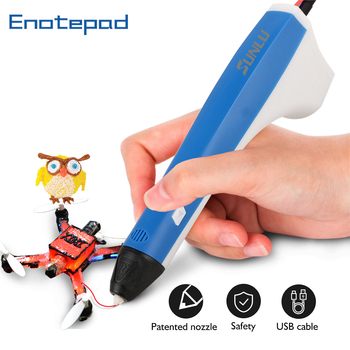 Bolígrafo 3D profesional para niños, 1,75mm, filamento PLA, bolígrafos PCL, recarga de repuestos de impresión, lápiz original con entrega rápida