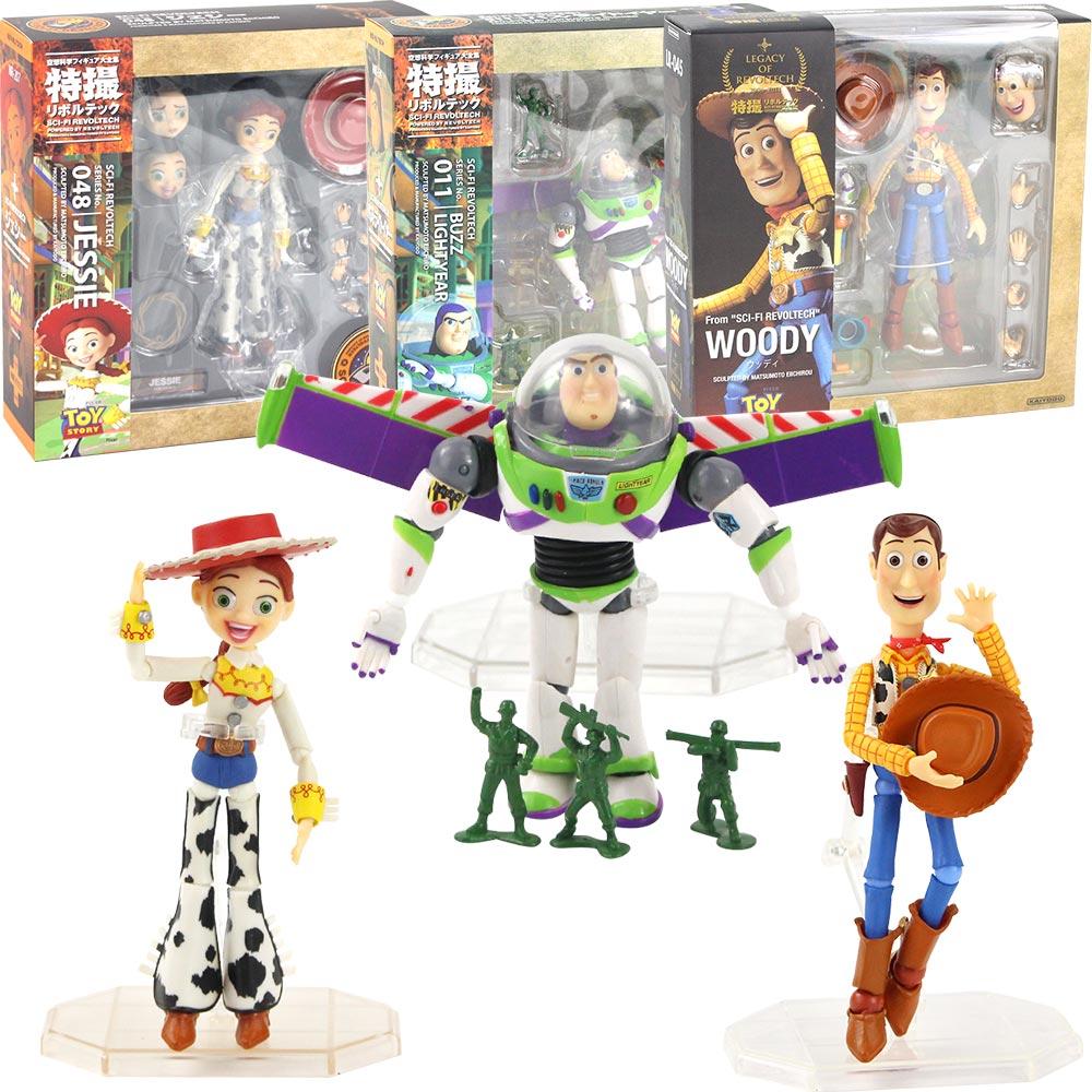Toy Story Series No 011 Buzz Lightyear Sci-Fi Revoltech Special PVC Figure 12cm
