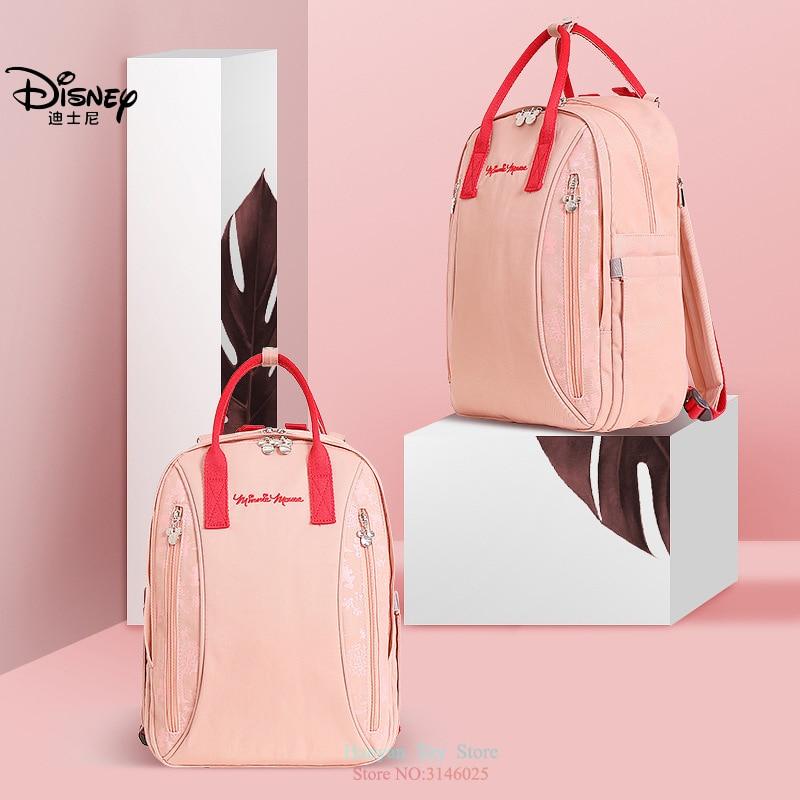 Véritable Disney nouvelle maman grande capacité Double épaule voyage sac à dos mode multifonction sac à main bouteille sac sacs d'isolation