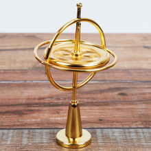 Creative Scientific Learning Metal Finger Gyroscope Gyro Top Pressure Relieve Classic Toy Educational Toy For Children