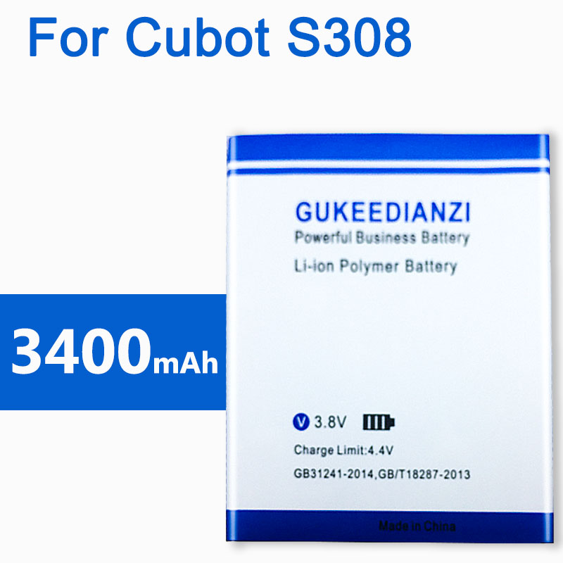 2019 New <font><b>S308</b></font> Real 3400mAh Rechargeable mobile <font><b>Battery</b></font> For <font><b>Cubot</b></font> <font><b>S308</b></font> Li-ion <font><b>Batteries</b></font> image