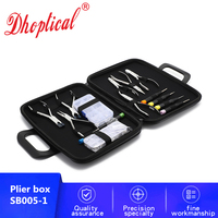 eyeglasses pliers set ,nose pad set ,glasses screw set 7 pliers and 6 screwdriver wholesale low price