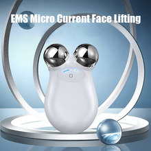 Face Slimming Massager For Face Massage Face Roller Massager Facial Lifting Microcurrent Skin Care Home Beauty Face Lift Devices